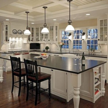 Unique Farmhouse Lighting Kitchen Ideas 27