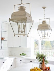 Unique Farmhouse Lighting Kitchen Ideas 31