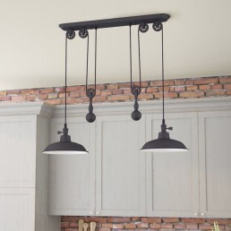 Unique Farmhouse Lighting Kitchen Ideas 59