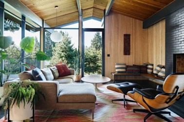 Attractive Mid Century Modern Living Rooms Design Ideas 31