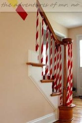 Gorgeous Ways To Decorate Your Stairs In This Christmas Ideas 41