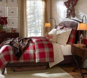 Stunning Christmas Bedroom Decor Ideas 01