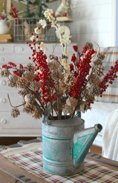 Wonderful Red Christmas Decoration Ideas 01