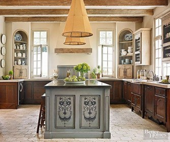 Delightful French Country Kitchen Design Ideas 05
