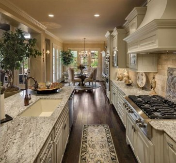 Delightful French Country Kitchen Design Ideas 13