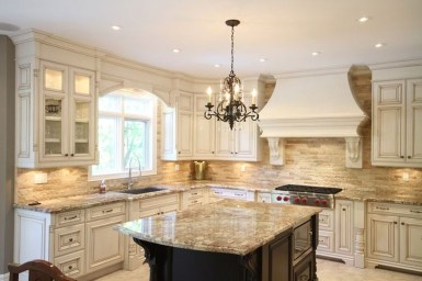 Delightful French Country Kitchen Design Ideas 36
