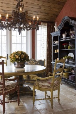 Delightful French Country Kitchen Design Ideas 50