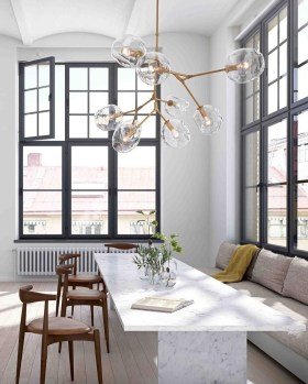 Fascinating Chandelier Lamp Design Ideas For Your Dining Room 24