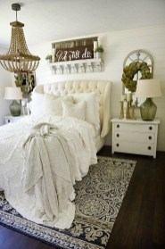 Stylish Farmhouse Bedroom Decor Ideas 13