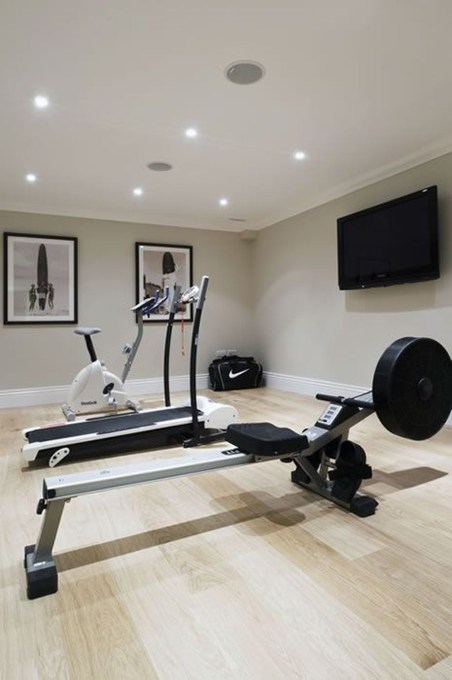 Cheap Home Gym Decorating Ideas For Small Space 09