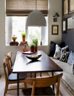 Modern Mid Century Dining Room Table Decor Ideas 39