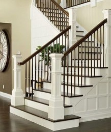 Perfect Living Room Staircase Design Ideas 18