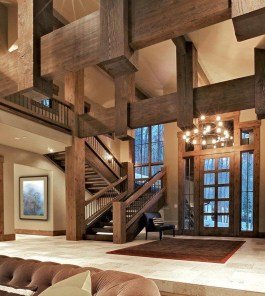 Perfect Living Room Staircase Design Ideas 40
