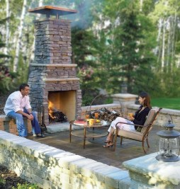 Wonderful Outdoor Fireplace Design Ideas 05