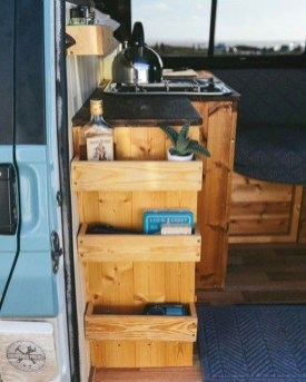 Wonderful Rv Camper Van Interior Decorating Ideas 06