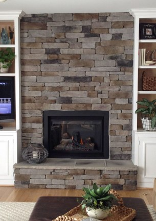 Beautiful Stone Veneer Wall Design Ideas 22