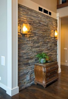 Beautiful Stone Veneer Wall Design Ideas 30