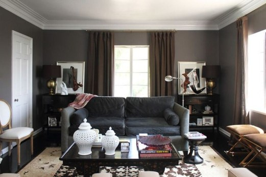Charming Living Room Designs Ideas With Combinations Of Brown Color 01