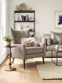 Charming Living Room Designs Ideas With Combinations Of Brown Color 20