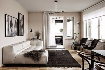 Charming Living Room Designs Ideas With Combinations Of Brown Color 31