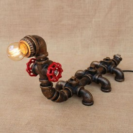 Cool Diy Industrial Pipe Lamps Ideas 11