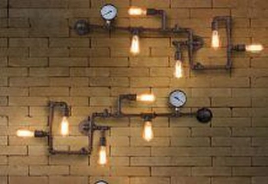 Cool Diy Industrial Pipe Lamps Ideas 21