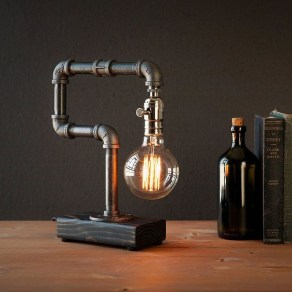Cool Diy Industrial Pipe Lamps Ideas 29