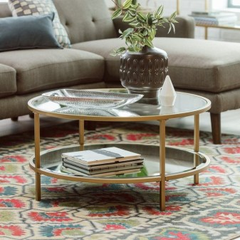 Marvelous Glass Coffee Tables Ideas For Living Room 04