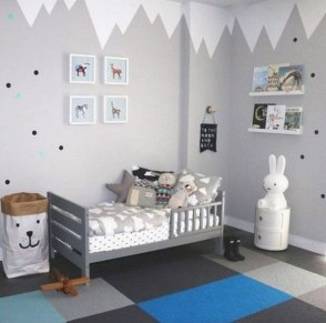 Pretty Scandinavian Kids Rooms Designs Ideas 17