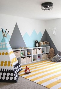Pretty Scandinavian Kids Rooms Designs Ideas 21