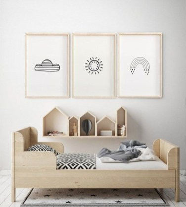 Pretty Scandinavian Kids Rooms Designs Ideas 25