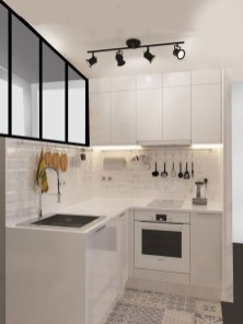 Stunning Small Kitchen Design Ideas For Home 28