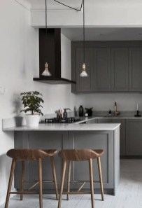 Stunning Small Kitchen Design Ideas For Home 44