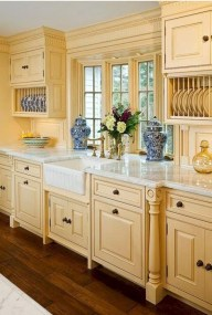 Stylish French Country Kitchen Decor Ideas 05