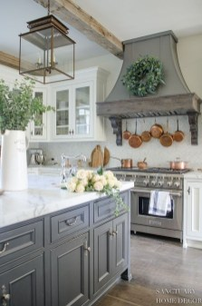Stylish French Country Kitchen Decor Ideas 35