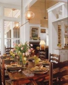 Stylish French Country Kitchen Decor Ideas 49