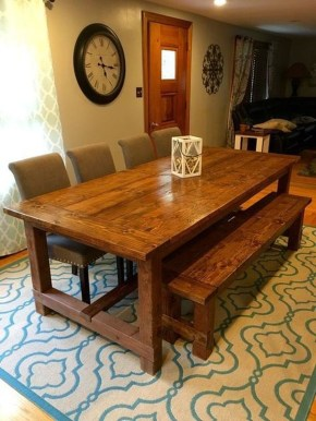 Adorable Farmhouse Tables Ideas For House 07