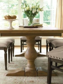Adorable Farmhouse Tables Ideas For House 13