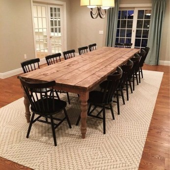Adorable Farmhouse Tables Ideas For House 21