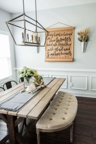 Adorable Farmhouse Tables Ideas For House 23