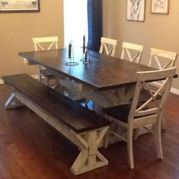 Adorable Farmhouse Tables Ideas For House 39