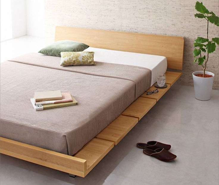 Best Wooden Platform Designs Ideas For Bed 01
