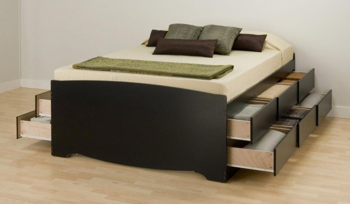 Best Wooden Platform Designs Ideas For Bed 22