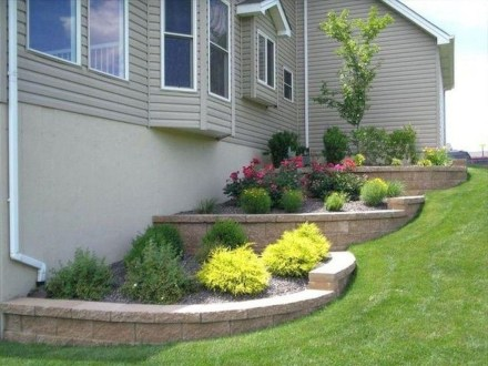 Brilliant Rock Garden Landscaping Ideas For Front Yard 50