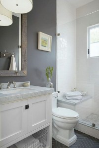 Gorgeous Small Bathroom Remodel Ideas On A Budget 40
