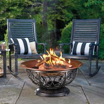 Creative Build Round Firepit Area Ideas For Summer Nights 27