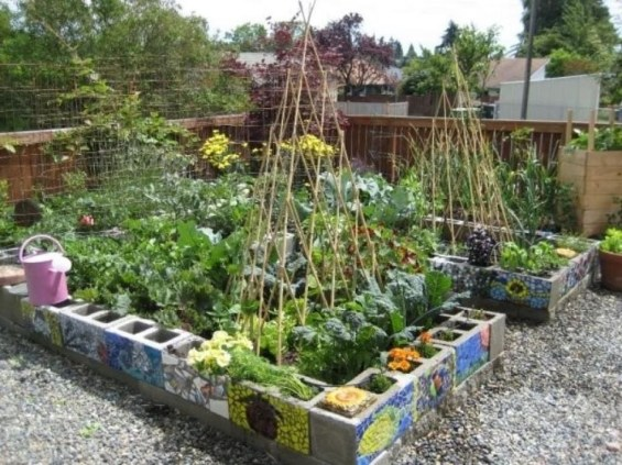 Fancy Garden Bed Borders Ideas For Vegetable And Flower 33