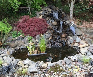 Modern Diy Garden Pond Waterfall Ideas For Backyard 14