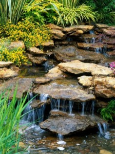 Modern Diy Garden Pond Waterfall Ideas For Backyard 25