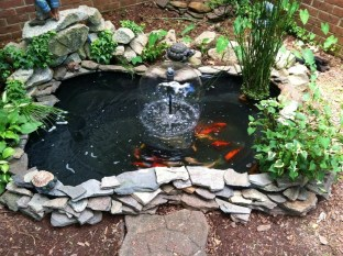 Modern Diy Garden Pond Waterfall Ideas For Backyard 36